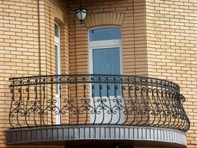 ограждения с ковкой балконные