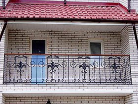 ограждения с ковкой для балкона