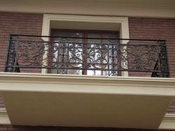 ограждение кованое для балкона