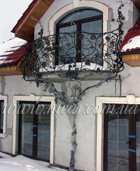 Эксклюзивное ограждение для балкона
