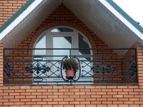 кованые ограждения балконные