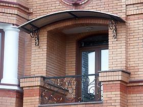 ограждения балконные кованые