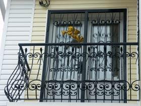 ограждения балконные с ковкой