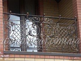 ограждения кованые на балкон