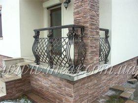 кованые ограждение на балкон