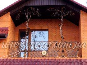 Балконные ограждения в Киеве, Украине