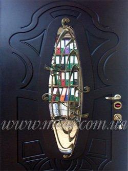 двери с ковкой Модерн