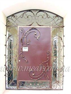 двери с ковкой Каталония