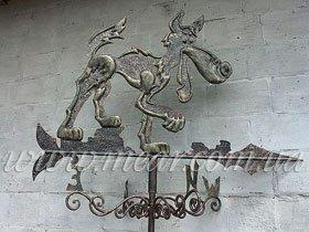 Флюгер ковка