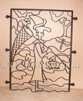 Декоративные кованые решетки