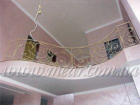 ограждения для лестниц с ковкой