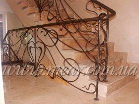 ограждения для лестницы из металла