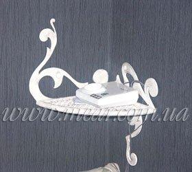 Изготовление кованых этажерок, полок под заказ