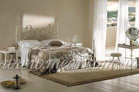 Итальянские кованные кровати заказать в Киеве