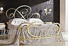 Итальянские кованные кровати недорогие