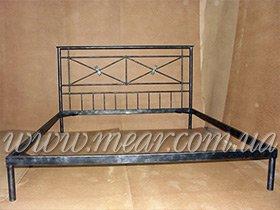 Кованная кровать изготовление