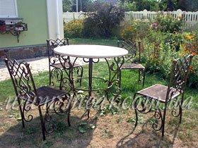 Кованные столовые наборы, изготовление, в Киеве