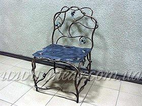 Кованый стул заказать
