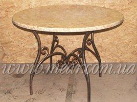 Кованые обеденные столы