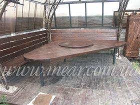 кованый стол Elegant