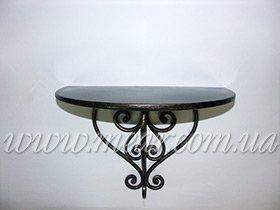 Консольный столик кованный