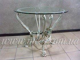 Изготовление кованых столов, заказать
