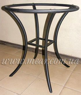 Столы кованные, изготовление