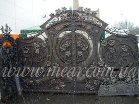 Ворота, заказать в Киеве