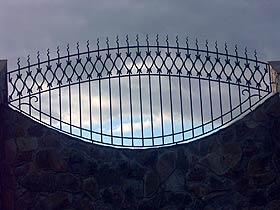 кованные кованые навершия на забор